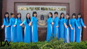 Sinh viên trường đại học Ngân Hàng