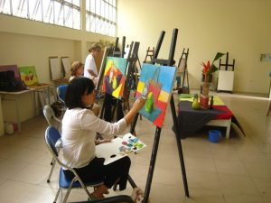 Top 3 trường đại học đào tạo hội họa