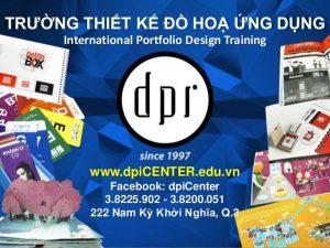 DPI Center là trường chuyên về Đào tạo Thiết kế đồ họa ứng dụng
