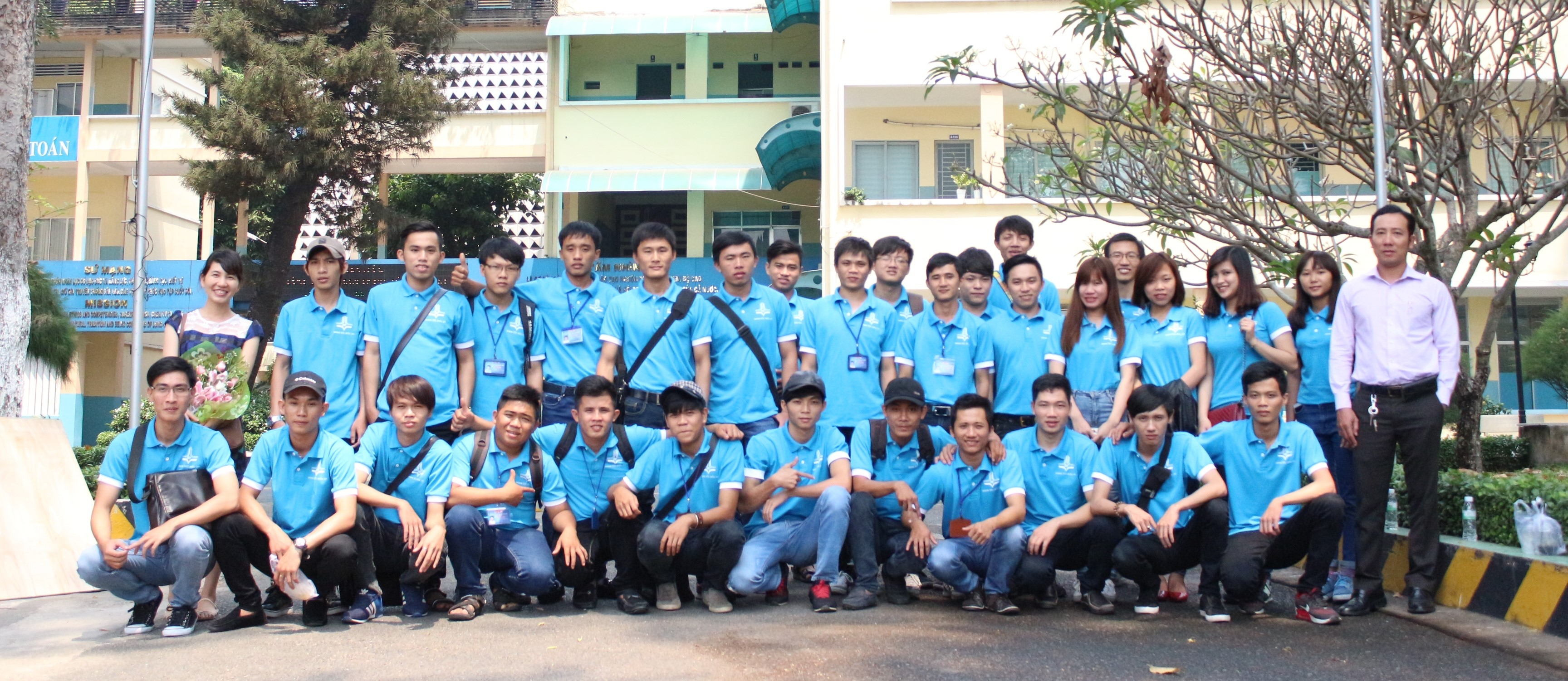 Sinh viên ngành marketing du lịch của trường