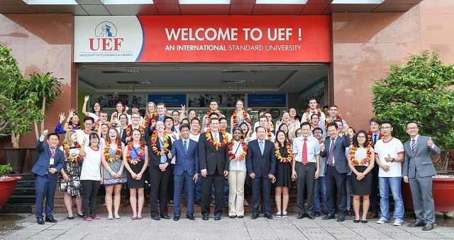 hệ thống thông tin quản lý UEF