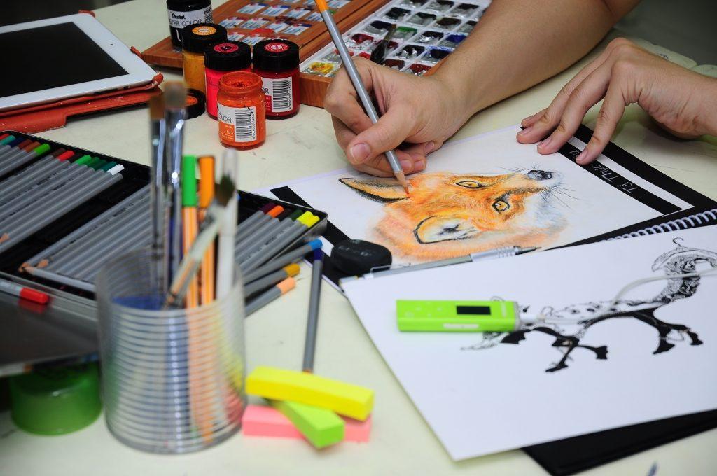 học thiết kế đồ họa tại cao đẳng nghệ thuât