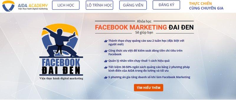 Trung tâm đào tạo Facebook Marketing Aida Academy