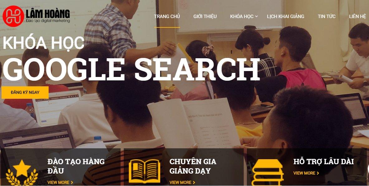 Học Google Adwords ở Lâm Hoàng