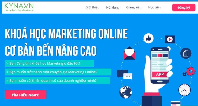 Học marketing online trực tuyến Kyna