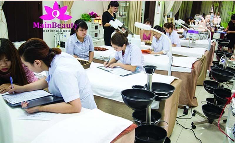 Trung tâm dạy Spa ở TPHCM - Trung tâm đào tạo thẩm mỹ Mainbeauty