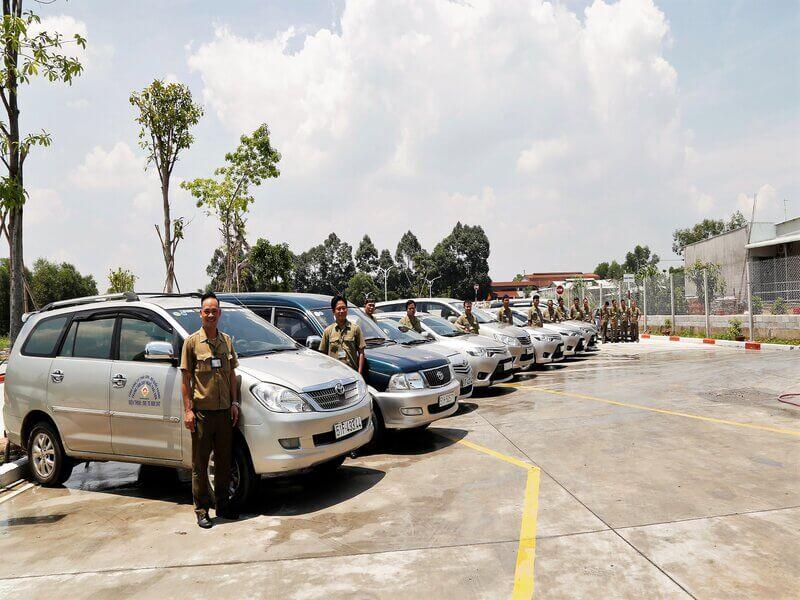 Trường đào tạo lái xe quân khu 7