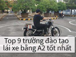 Top những trường đào tạo lái xe bằng A2