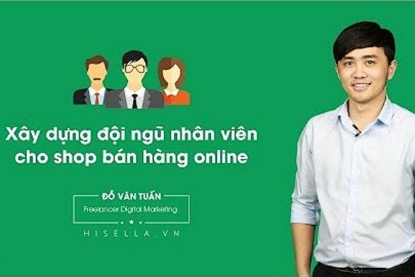 Khoá học bán hàng online tại Hisella