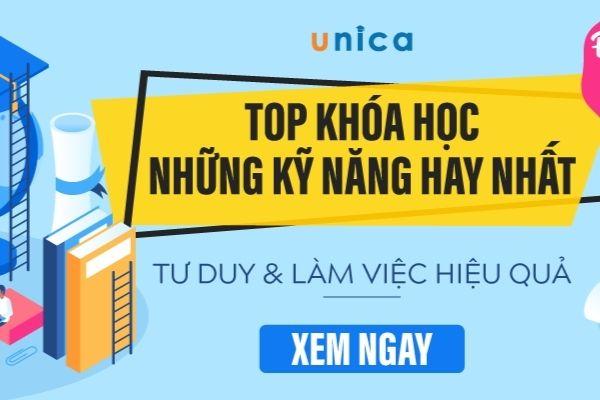Khoá học bán hàng online tại Unica