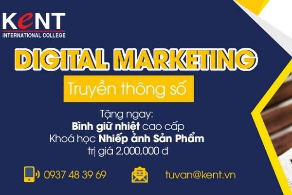 Khóa học marketing online tại trung tâm Kent