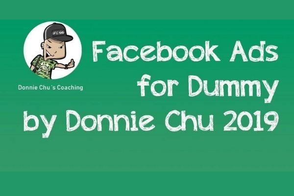 Khoá học quảng cáo Facebook Ads của Donnie chi